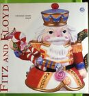 FITZ AND FLOYD NEW IN BOX NUTCRACKER SWEETS TEAPOT WITH LID 2003 Christmas