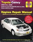 2002-2006 Camry Avalon ES300/330 02-08 Solara Haynes Repair Service Manual 0271