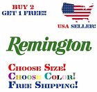 Remington Decal Sticker Free Shipping Buy 2 Get 1 Free