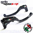 TWM CNC ADJUSTABLE FOLDING BRAKE CLUTCH LEVERS APRILIA RSV4 / FACTORY 2009-2020