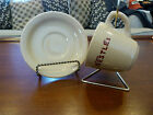 Vintage Nestle's Chocolate Shenango China Inca Ware Restaurant Cup and Saucer