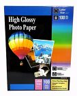 Premium Glossy Inkjet Photo Paper 85x11 Letter Size 100 sheets Weight 210gsm