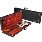 Fender Deluxe Case for Jaguar/Jazzmaster Black with Orange Plush Interior