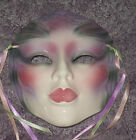 CLAY ART CERAMIC MASK....WATER.... EXTREMELY RARE!
