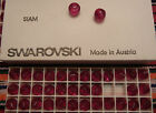 Swarovski Vintage Siam Art 5030 8mm 72 beads a tray