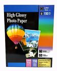 Premium Glossy Inkjet Photo Paper 85x11 Letter Size 150 sheets Weight 110gsm