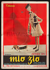 MON ONCLE 1958 Amazing Italian 55x78 Jacques Tati poster Must see filmartgallery