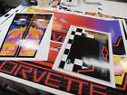 Corvette Pinball Cabinet Full Decal Set Licensed Next Gen Printing : Mr Pinball