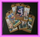 EASTER HANG TAGS - SCENTED AND PRIMITIVE -  LARGE