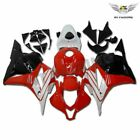 Fit for Honda 2009-2012 CBR600RR Red White Injection Fairing ABS Plastic jB3