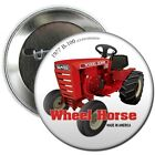 Wheel Horse Lawn Mower Garden Tractor B Pin back Button or magnet Hat Shirt gift