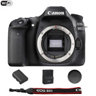 Canon EOS 80D 242 MP Built In WiFi DSLR Camera Body Only Summer Time Sale