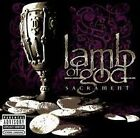 LAMB OF GOD : SACRAMENT (CD) sealed