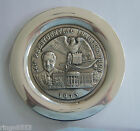WITTNAUER STERLING SILVER NIXON INAUGURATION PRESIDENTIAL PLATE 1973