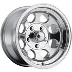 17x9 Polished Ultra Type 164 164 5x55 12 Wheels 265 70R17LT Tires