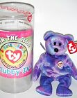 Retired (CLUBBY IV Bear) Original Kit Collectors TY BEANIE BABIES 2001 + Button
