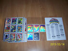 1990 Marvel Universe Card set with all holograms - complete plus large checklist