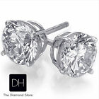 0.42 Ct. Loose Brilliant Round Cut Diamond D SI2 Matched Pair Earrings Christmes
