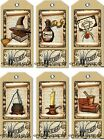 12 HALLOWEEN HANG GIFT TAGS FOR SCRAPBOOK PAGES 29