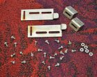 Seeburg SS160 Jukebox Title Glass Door Latch Parts & Leftover Hardware...