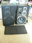 Pair of VERY RARE  DENON  3 way  D-3030  Speakers USC-3030