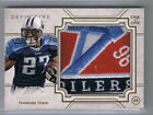 2015 Topps Definitive Collection Eddie George Jumbo Logo Patch 1 1 Titans Oilers