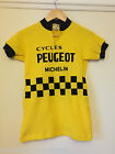 Vintage Childrens Peugeot Team Cycling Jersey Perfect For LEroica