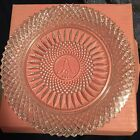 Avon 92nd Anniversary Lead Crystal Collector's Plate From 1978