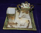 Nippon Platter, Creamer, and Sugar Set With Spoon Very Nice (RARE IN GREAT COND)
