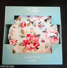 SET OF (4) 222 FIFTH ORIANA TEAL FLORAL 8.5