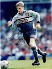 DAVID BECKHAM - Signed colour action photograph in Man united strip