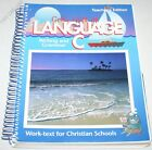 A Beka Book Gods Gift of Language C English Grade 6 Teacher Edition Guide Key
