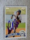 Detroit Tigers Daniel Fields Signed 2011 Topps Pro Debut Auto Card