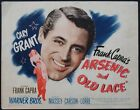 ARSENIC AND OLD LACE CARY GRANT FRANK CAPRA 1944 TITLE CARD
