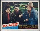 RED RIVER MONTGOMERY CLIFT HOWARD HAWKS WESTERN 1948 LOBBY CARD