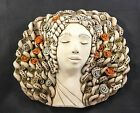 Wall Clay Art Ceramic Mask Decor Decorative Face Hanging Handmade Decoration New