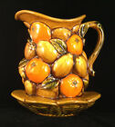 Fruit Basket Pottery Inarco Japan Wall Sconce E4481