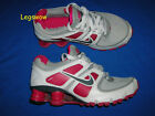Nike Shox Turbo XI 11 Sneakers Running Shoes Womens 5 Red White Grey Trainers