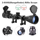 Pinty Rifle Scope Mil Dot Illuminated RedGreen 3 9X40 Optics Hunting Air Sniper