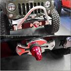 For Jeep Wrangler 07-16 Synthetic Winch Rope Cable Hawse Fairlead 11.8