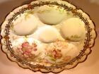 Antique Haviland France Floral 5-Well Oyster Plate for Bailey Banks
