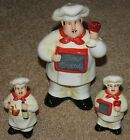 CERTIFIED INTERNATIONAL BISTRO CHEF VINO SALT / PEPPER / CHEESE SHAKER SET