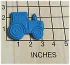 Farm Tractor Shaped Fondant Cookie Cutter and Stamp 1271