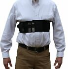 AlphaHolster Chest Band Gun Holster w Removable Suspender Cool Elastic Material
