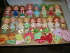 VINTAGE LOT OF 18 AMERICAN GREETINGS 1979 STRAWBERRY SHORTCAKE DOLLS-ACCESSORIES