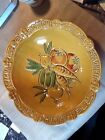 USA CALIFORNIA VINTAGE ITALIAN ITALY PASTA SERVING BOWL VEGETABLE CHEESE YELLOW