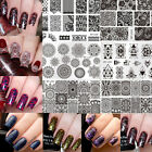 Nail Art Stamp Stamping Plates Templates Image Manicure Born Pretty L Series