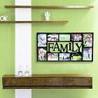 Black Family Style Decorative Family Wall Hanging Collage Picture Photo Frame