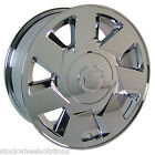 One Brand New 17 Fits Cadillac DTS Deville OE Style Wheel Rim Chrome 4553