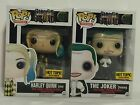 Funko Pop! Suicide Squad Joker Tuxedo & Harley Quinn Gown HOT TOPIC EXCLUSIVE